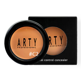 Arty Professional Silk Real Control Concealer 4g #C2