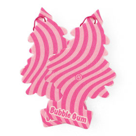 แพ็คคู่ Little Trees Air Freshener (1sheet x 2pack) #Bubble Gum