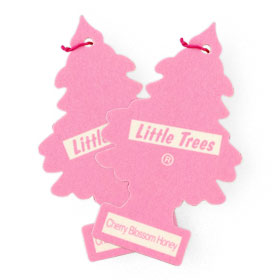 แพ็คคู่ Little Trees Air Freshener (1sheet x 2pack) #Cherry Blossom Honey
