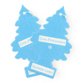 แพ็คคู่ Little Trees Air Freshener (1sheet x 2pack) #Summer Linen