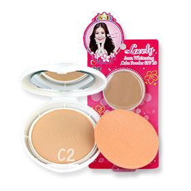 Sheene Lovely Aura Whitening Cake Powder SPF20 9g #C2