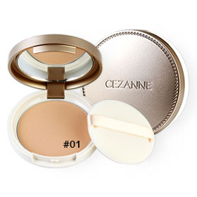 Cezanne UV Silk Powder SPF48/PA++ 10g #01 Light