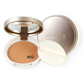 Cezanne UV Silk Powder SPF48/PA++ 10g #02 Natural