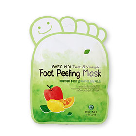 Avec Moi Fruit & Vinegar Foot Peeling Mask 1pcs
