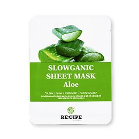 Re-Cipe Slowganic Aloe Mask 1pcs