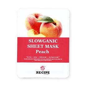 Re-Cipe Slowganic Peach Mask 1pcs