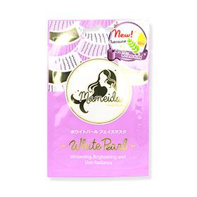 Mameido White Pearl Facial Mask 1pcs(สินค้านี้ไม่ร่วมรายการซื้อ 2 ชิ้นฟรีค่าจัดส่ง)