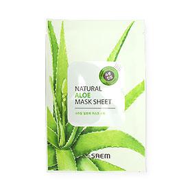 The Saem Natural Aloe Mask Sheet 1pcs
