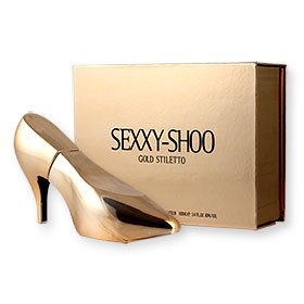 Laurelle Sexxy-Shoo Pour Femme EDP 100ml - Gold Stiletto