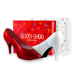 Laurelle Sexxy-Shoo Little Shoo EDP Set 2 Items (Red Shoo 30ml+ White Shoo 30ml)