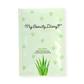 My Beauty Diary Aloe Mask 1pcs(สินค้านี้ไม่ร่วมรายการซื้อ 2 ชิ้นฟรีค่าจัดส่ง)