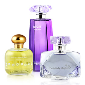 Laurelle Pour Femme EDP Set 3 Items (Definitely Maybe 100ml + Desire 100ml+Love Me Love Me Not Spring Edition 100ml)