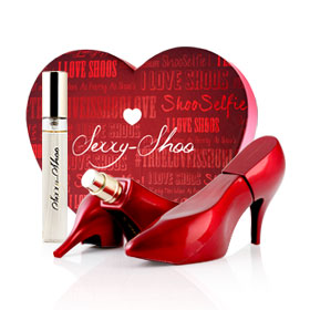 Laurelle Sexxy-Shoo Red Shoo EDP Set 3 Items (Heart Shape Box)