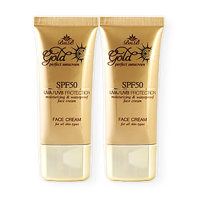 แพ็คคู่ Bm.B Gold Perfect Sunscreen SPF50 (30gx2)
