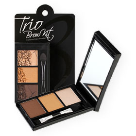 Mei Linda Trio Brow Kit 3g #No.1 Honey Brown