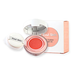 Soul Skin CC Cushion Blush On #Orange Color