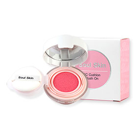 Soul Skin CC Cushion Blush On #Pink Color