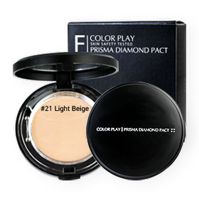It's Skin Color Play Prisma Diamond Pact #21 Light Beige