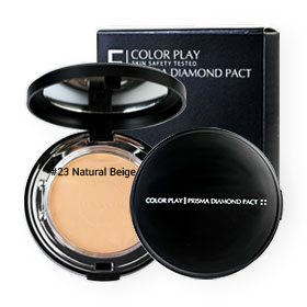 It's Skin Color Play Prisma Diamond Pact #23 Natural Beige