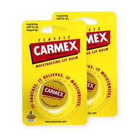 แพ็คคู่ Carmex Moisturizing Lip Balm #Classic (7.5gx2)