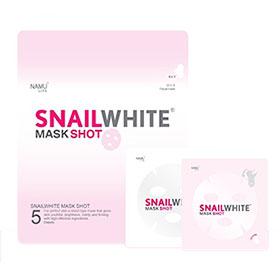 Snail White Mask Shot 1pcs