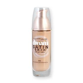 Maybelline Dream Satin Skin Liquid Foundation SPF24/PA++ 30ml #B00 ผิวขาวอมชมพู
