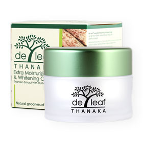 De Leaf Thanaka Moisturizing And Whitening Cream 45g