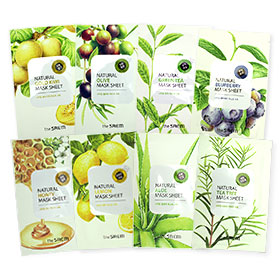 The Saem Natural Whitening Mask Set 8 Sheets