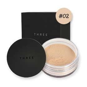 THREE Ultimate Diaphanous Loose Powder 17g #Translucent 02