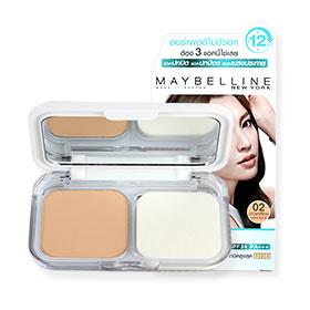 Maybelline White Superfresh UV Whitening Long-Lasting Two Way Cake SPF34/PA+++ #02 Nude Beige