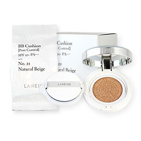 Laneige BB Cushion Pore Control #21 Natural Beige