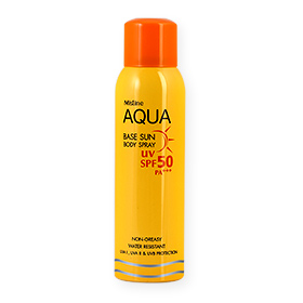 Mistine Aqua Base Sun Body Spray SPF50/PA+++ 100ml
