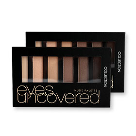 แพ็คคู่ Collection Eyes Uncovered 2015 Nude Palette