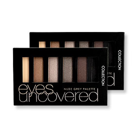 แพ็คคู่ Collection Eyes Uncovered 2015 Nudegrey Palette