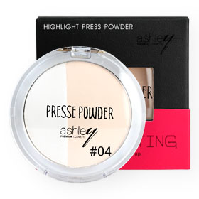 Ashley Highlight Press Powder 12g #04