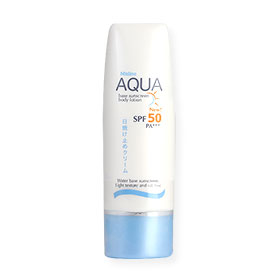 Mistine Aqua Base Sunscreen Body Lotion SPF50/PA+++ 70ml