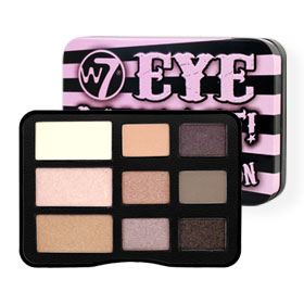 W7 Eye Want It! Eye Shadow Collection 9 Colors