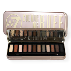 W7 Natural Nudes Eye Colour Palette #Colour Me Buff
