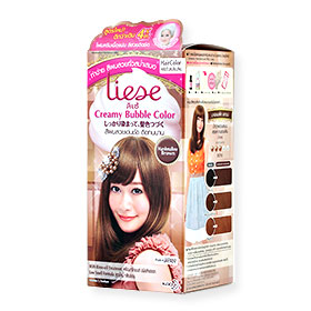 Liese Creamy Bubble Hair Color #Marshmallow Brown