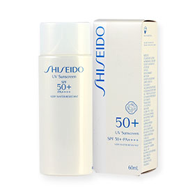 Shiseido UV Sunscreen SPF 50+ PA++++ 60ml #13097