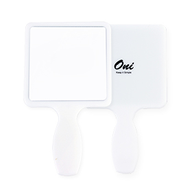 Oni Hand Mirror #White