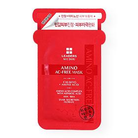 Leaders Mediu Amino Ac-Free Mask 1 Sheet(สินค้านี้ไม่ร่วมรายการซื้อ 2 ชิ้นฟรีค่าจัดส่ง)
