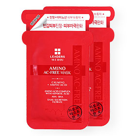 แพ็คคู่ Leaders Mediu Amino Ac-Free Mask (25ml x 2Sheets)