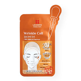 Leaders Insolution Wrinkle Cell Skin Seed Mask 1 Sheet