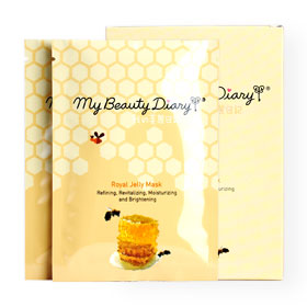 แพ็คคู่ My Beauty Diary Royal Jelly Mask (2 Sheets x 2 Boxes)