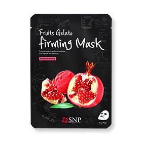 SNP Fruits Gelato Firming Mask 1 Sheet #Pomegranate(สินค้านี้ไม่ร่วมรายการซื้อ 2 ชิ้นฟรีค่าจัดส่ง)