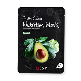 SNP Fruits Gelato Nutrition Mask 1 Sheet #Avocado