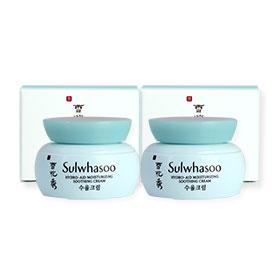 แพ็คคู่ Sulwhasoo Hydro-Aid Moisturizing Soothing Cream (5mlX2pcs)