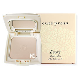 Cute Press Evory Perfect Skin Plus Vitamin E Foundation Powder # N1  (13g)