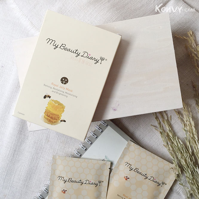 แพ็คคู่ My Beauty Diary Royal Jelly Mask_6